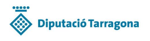 Subvencions atorgades per la Diputació de Tarragona