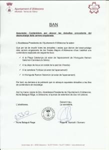Ban contenidors