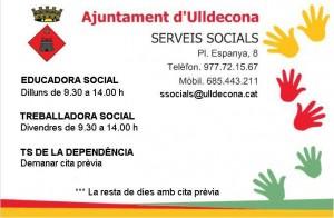 Horari serveis socials modificat