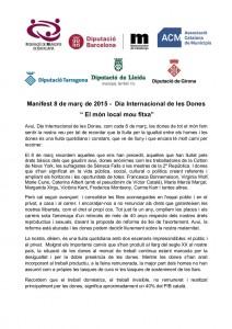 Manifest 8 de març de 2015 def  (1)