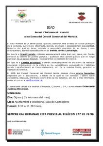 Difusió premsa SIAD Ulldecona