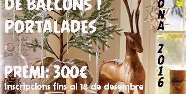 Concurs de guarniments nadalencs de balcons i portalades