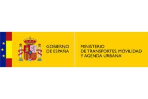 Logotip ministeri transport, mobilitat i agenda urbana